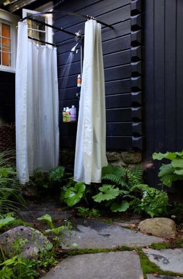 летний душ для дачи