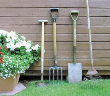 садовый инструмент: набор