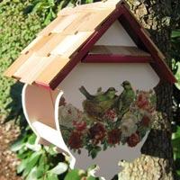 Как изготовить кормушки для птиц своими руками?