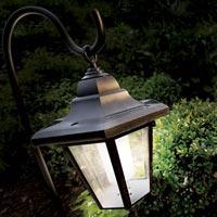 декоративный свет в саду