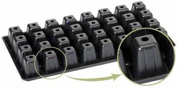 кассеты для рассады удобны в использовании