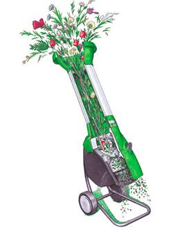 устройство шредера травы и веток